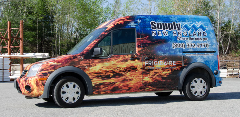 Supply New England van is on the road to help Kitchen & Bath Gallery customers, too