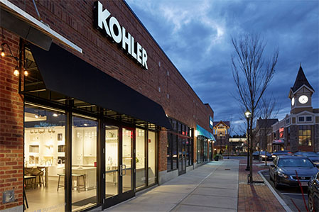 The Kohler Signature Store by Supply New England - Burlington, MA Kitchen Bath Gallery Location